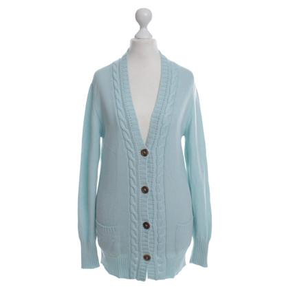 Iris von Arnim Cashmere sweaters in turquoise
