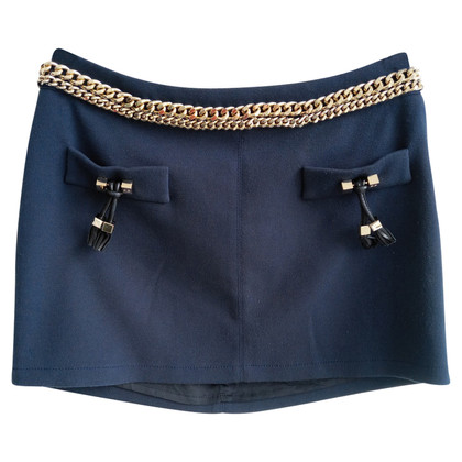 Elisabetta Franchi Mini skirt in blue