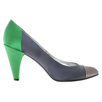 Marc by Marc Jacobs pumps in taupe / grey / green