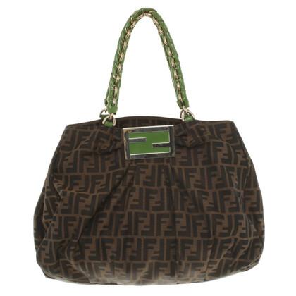 Fendi Handbag with Zucca patterns