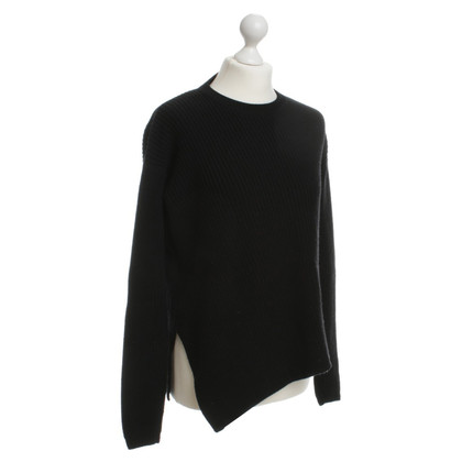 Odeeh Asymmetric Wool Sweater