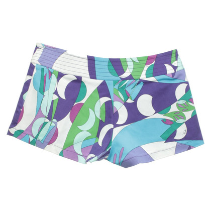 Emilio Pucci Shorts in multicolor