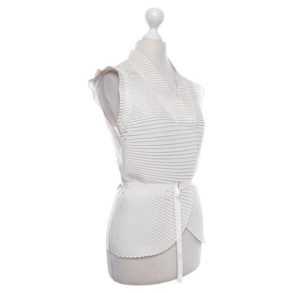 Strenesse Vest in cream white