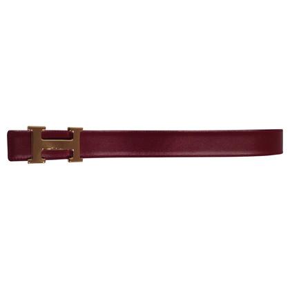 Hermès H - buckle REVERSIBLE belt