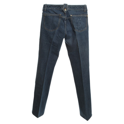 Yves Saint Laurent Jeans in Blau