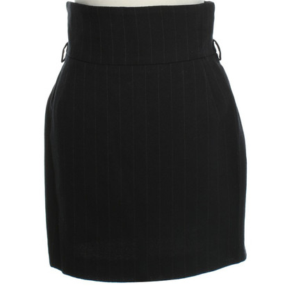 Dolce & Gabbana skirt pinstriped pattern