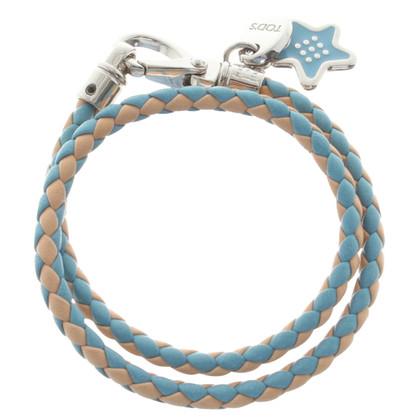 Tod's Leather bracelet in Bicolor