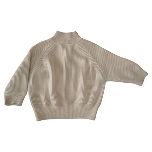 33ce9d9be Prada Knitwear Wool in Cream - Second Hand Prada Knitwear Wool in ...