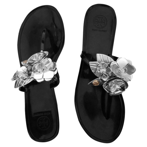 dc70284a1 Tory Burch Sandals with decoration - Second Hand Tory Burch Sandals ...