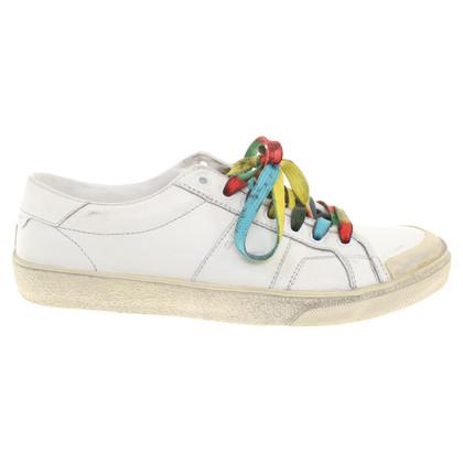 Saint Laurent chaussures de sport Destroyed