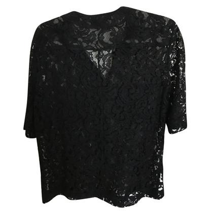 Victoria Beckham lace blouse