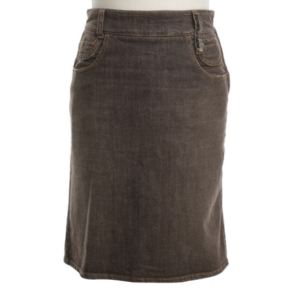 Moschino Jean skirt in brown