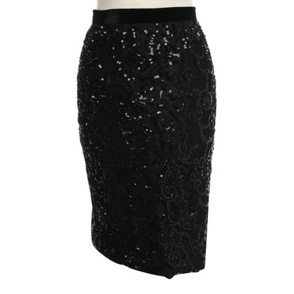 Yves Saint Laurent Pencil skirt with sequins