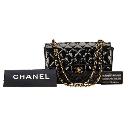 Chanel Lakleder klep schoudertas