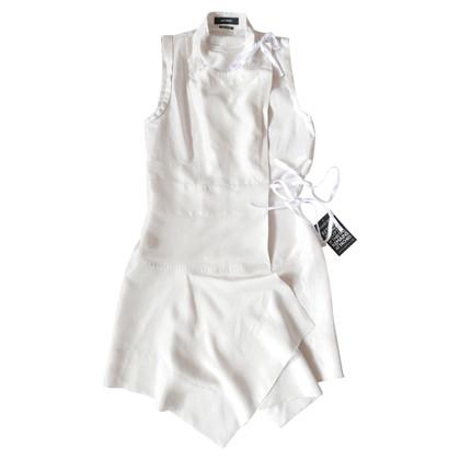 Isabel Marant Abito di seta in bianco