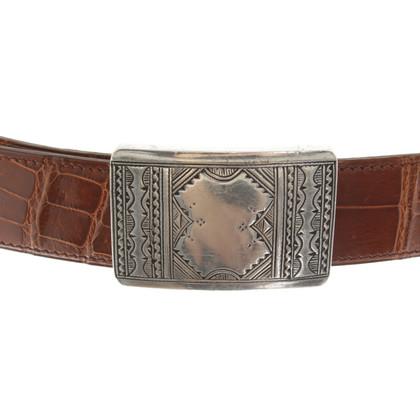 Hermès Belt with handmade clasp