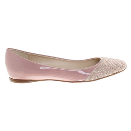 Jil Sander Ballerina's patent leather