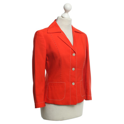 Alberta Ferretti Blazer in Rot-Orange