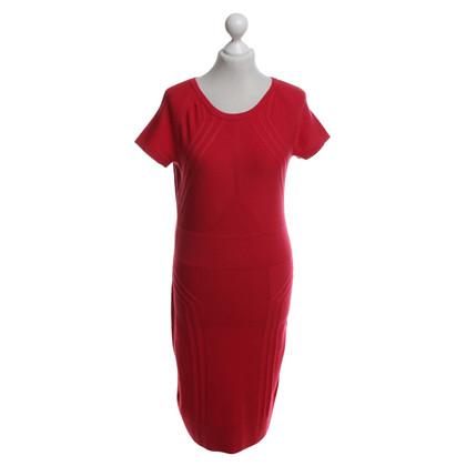 Diane von Furstenberg Gebreide jurk in rood