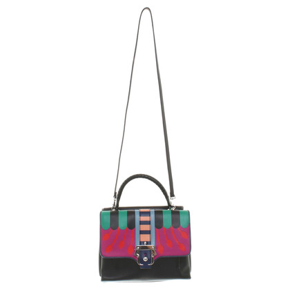 Paula Cademartori Black bag with pattern