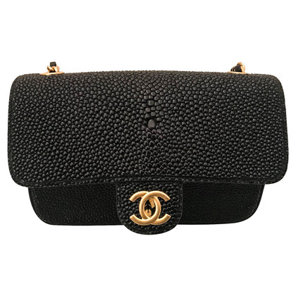"Chanel ""Classic Flap Bag Extra Mini"" made of stingray leather"