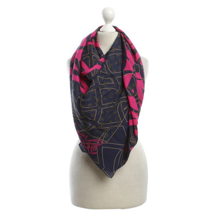 Louis Vuitton Silk scarf with print