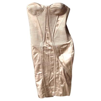 Elisabetta Franchi Bandeau-Kleid aus Satin