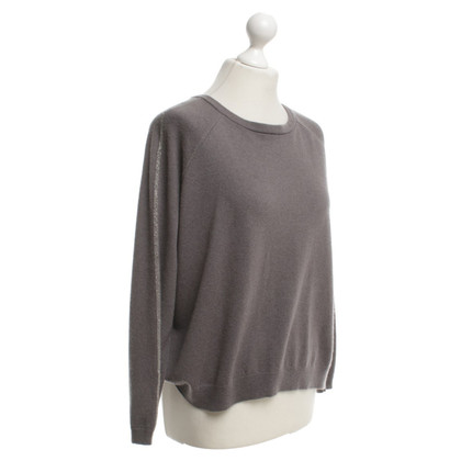 Brunello Cucinelli Strickpullover in Taupe