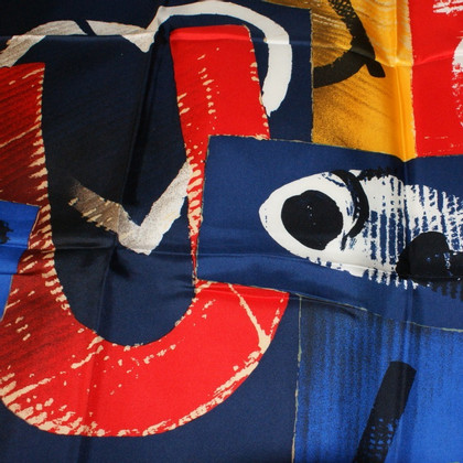 Emanuel Ungaro Silk scarf with colourful patterns