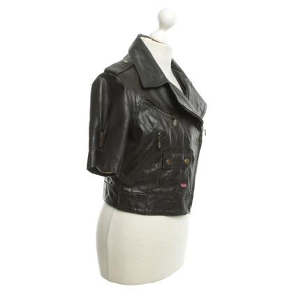 Belstaff Short leather jacket