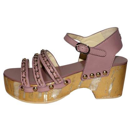Chanel Platform sandals