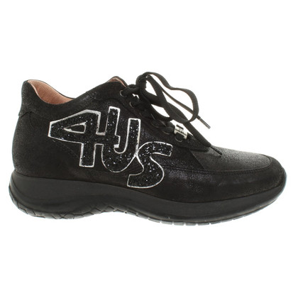 Cesare Paciotti Sneakers in Black