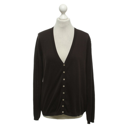 Malo Cardigan in marrone