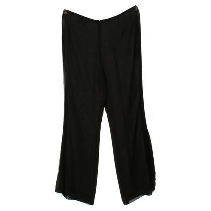 Akris Silk trousers in black