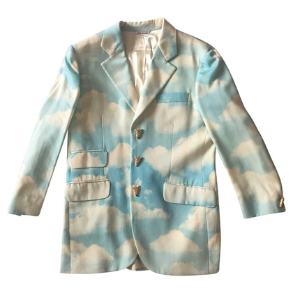 Moschino Cheap and Chic Blazer mit Wolkenprint