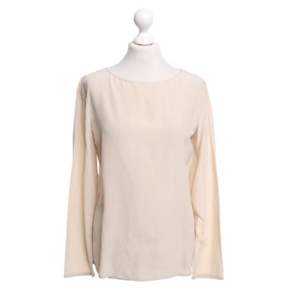 Patrizia Pepe Silk blouse in cream