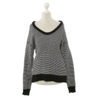 Alexander Wang Sweater in black/white