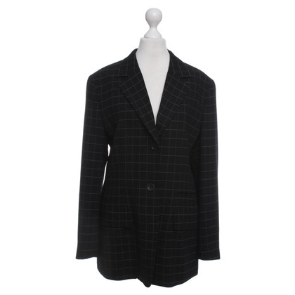 Bogner Blazer with checked pattern