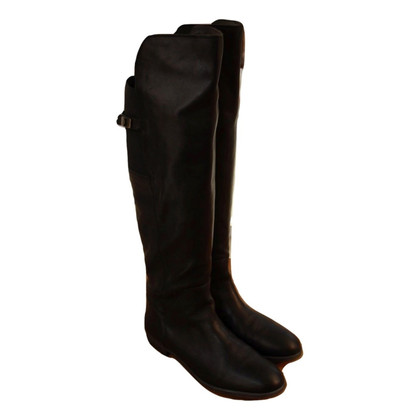 Tommy Hilfiger  Stivali di pelle nera