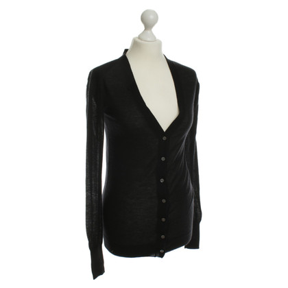 Dear Cashmere Cashmere Cardigan in black