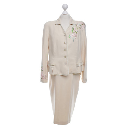 Christian Dior Costume in cream