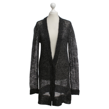 Dorothee Schumacher Cardigan in black / silver