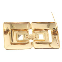Christian Dior Brooch in gold colors