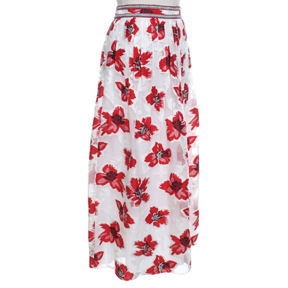 Tory Burch skirt with floral pattern