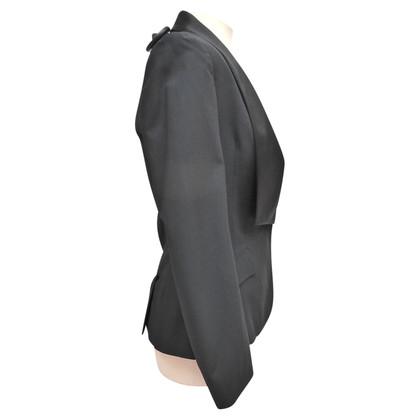 Christian Dior Giacca con collo asimmetrico