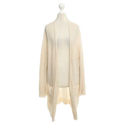 Zadig & Voltaire Long cardigan in beige