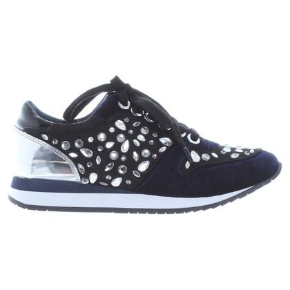 Kurt Geiger Sneakers met halfedelstenen