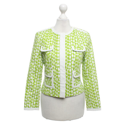 Laurèl Jacket in white / green