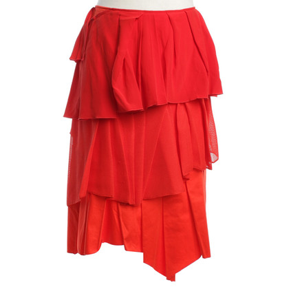 Other Designer Cedrik Charlier - skirt in red