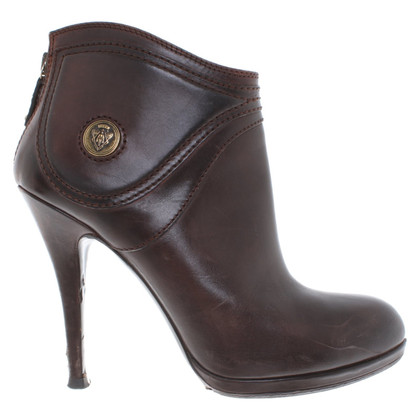 Gucci Ankle Boots in Braun